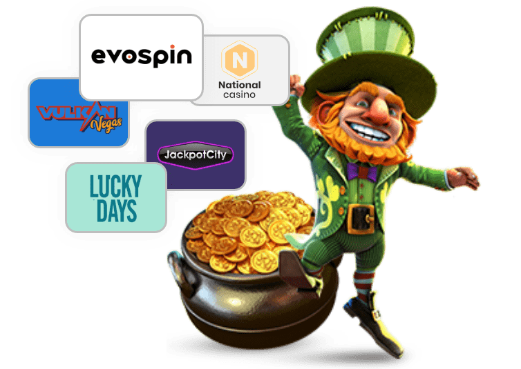 Casino Game Character With Money Bag